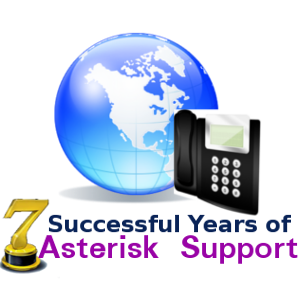 7years of Asterisk Support